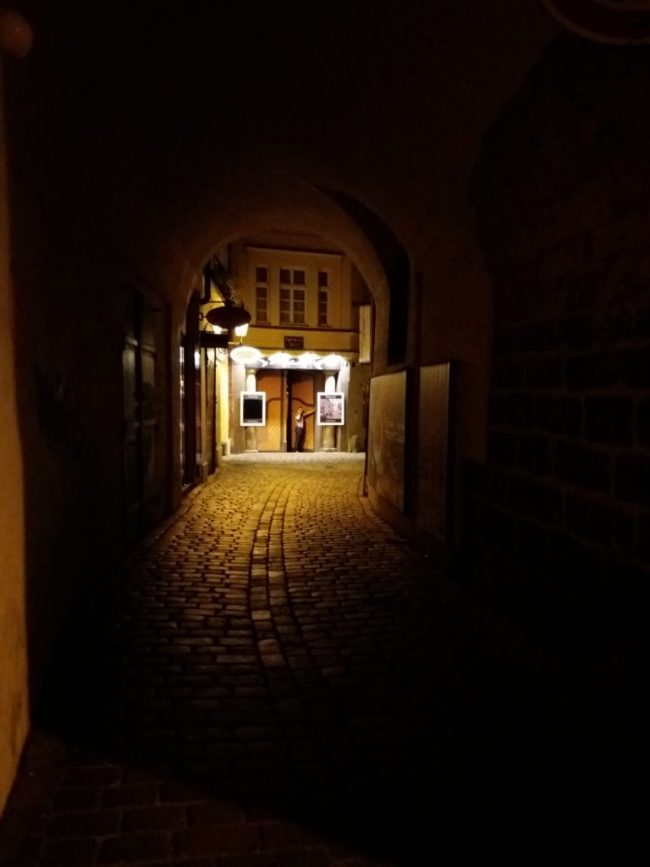 A photo of the passageway - Prague, Czechia