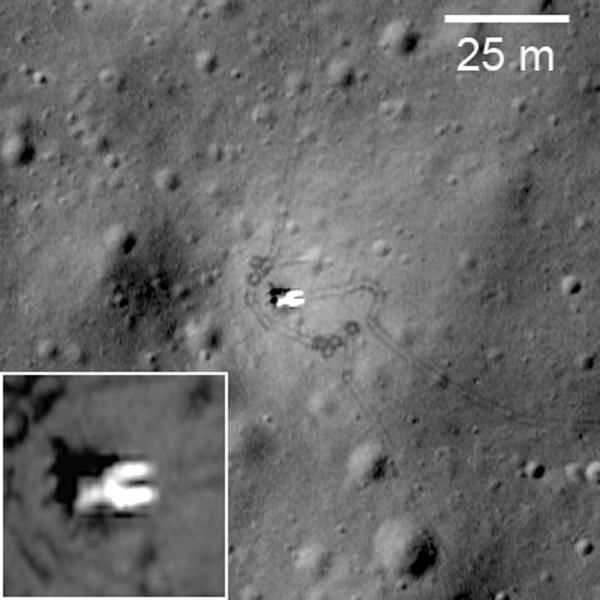 Lunar Reconnaissance Orbiter Lunokhod 1 Revisited Luna
