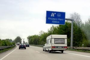 Mit dem Wohnmobil auf Reisen. Foto: DVR Deutscher Verkehrssicherheitsrat e. V.