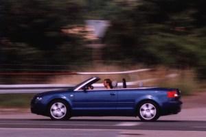 Audi A4 Cabrio. Foto: Petra Grünendahl, 2003.