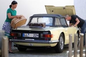 Mit dem Oldtimer auf Reisen. Foto: TÜV Süd.