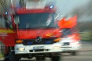 Feuerwehreinsatz. Foto: Polizei Kreis Mettmann.