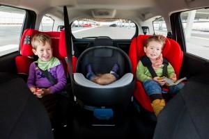 Ganz wichtig: Für jede Kindergröße den richtigen Sitz wählen. Foto: Edward Beierle.
