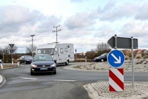 Geblinkt wird beim Ausfahren aus dem Kreisverkehr. Foto: ARCD.