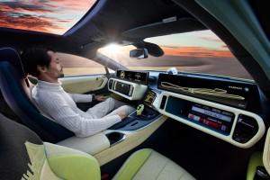Auto der Zukunft: Rinspeed Etos. Foto: Dekra/Rinspeed.