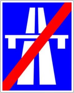 autobahnende