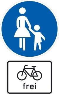 fahrrad-fussgaenger-verkehrsschild