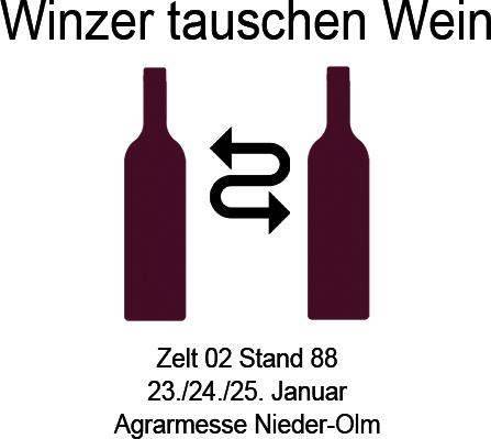 Icon Winzer tauschen Wein