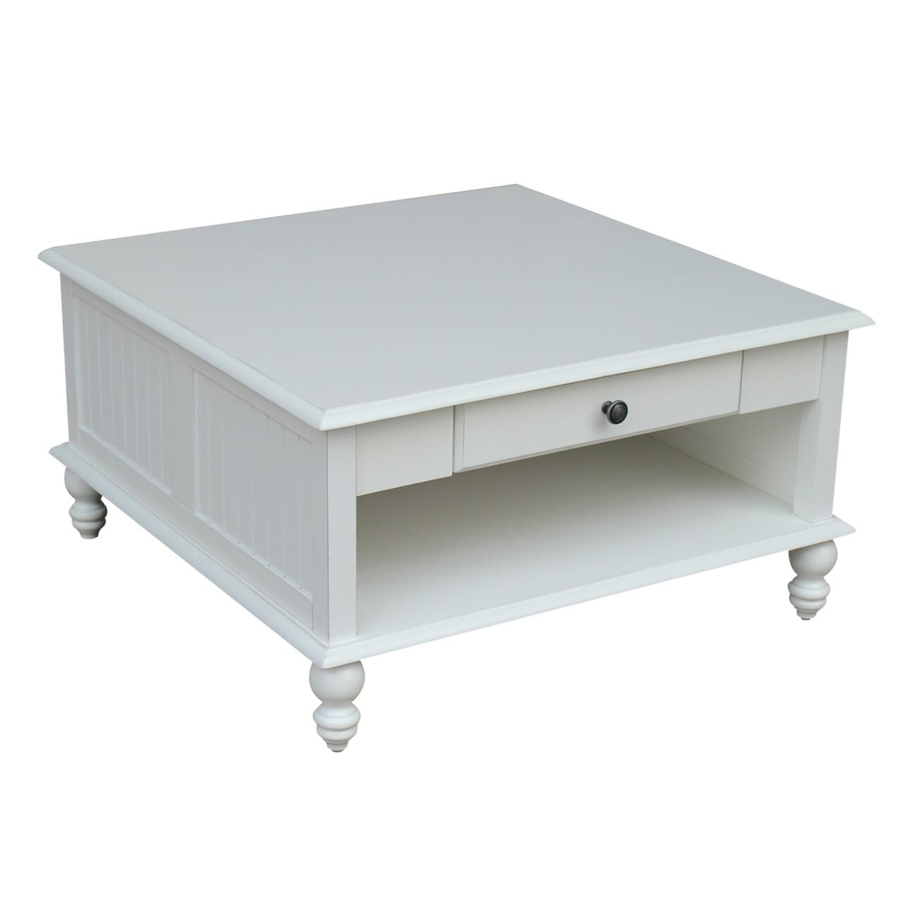 ot07 20sc cottage square coffee table in beach white