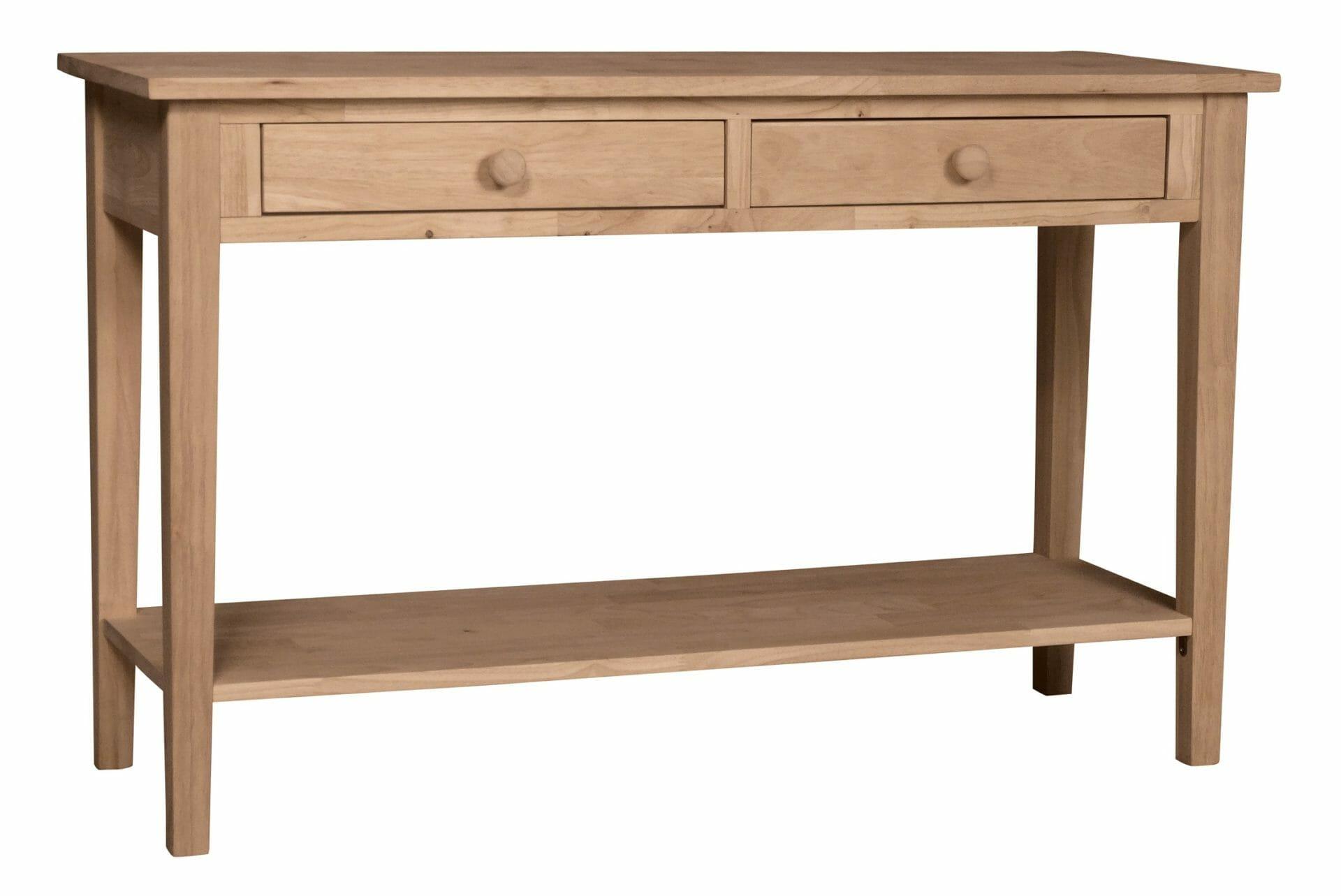 Ot 8s2 60 Inch Wide Spenser Sofa Back Table