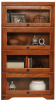 93394 Oak 60 Tall Barrister Bookcase