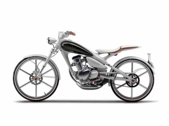 Yamaha Moegi Y125 Motorcycle