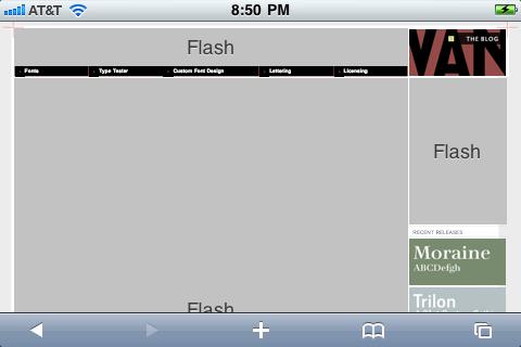 Terminal Design (before activating Frash)