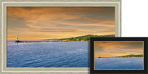 North Shore Sunset Framed Prints