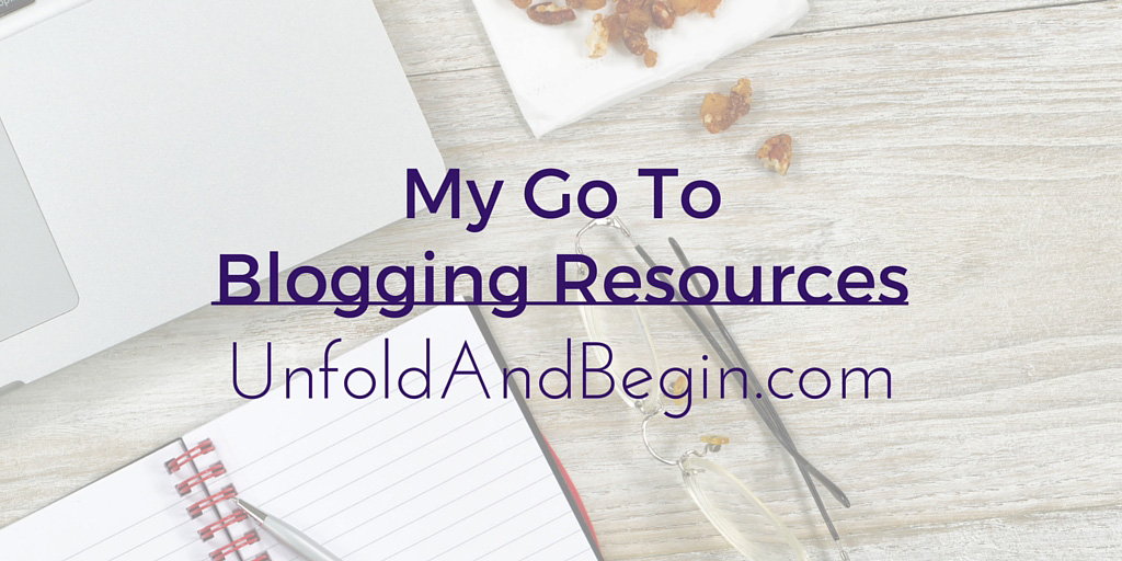 My Go To Blog Resources