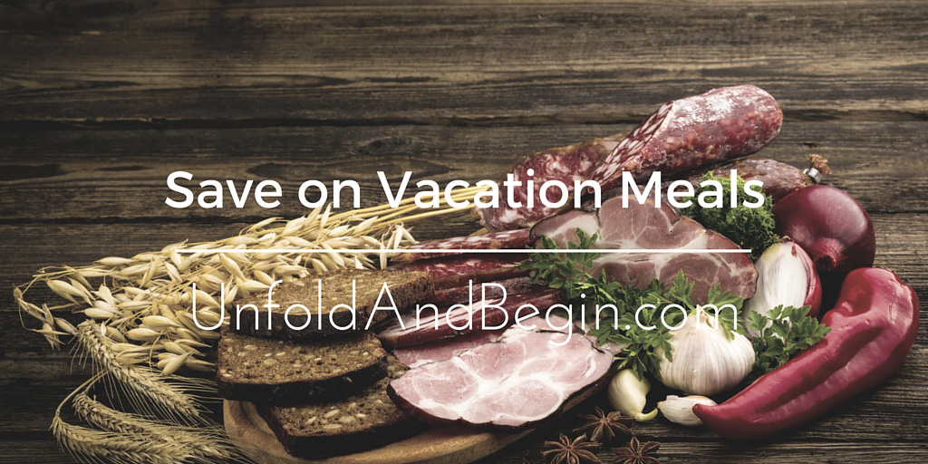 How To Save On Your Meals During Vacation