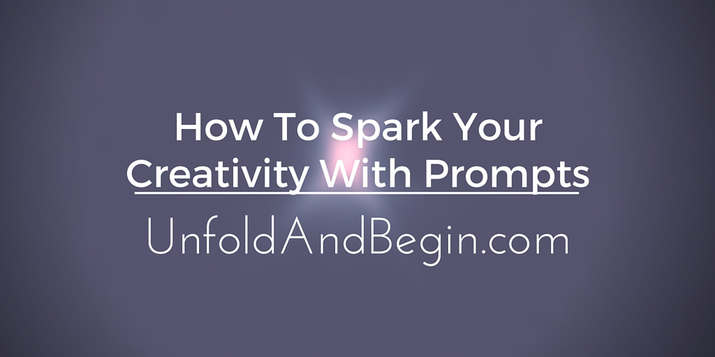 How To Spark Your Creativity With Prompts
