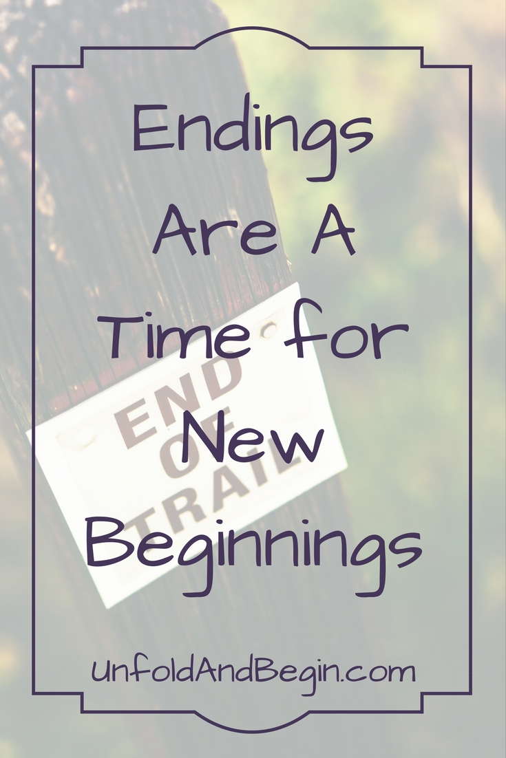 It's been five months in the making, but I'm hoping that for everyone endings are a time for new beginnings.