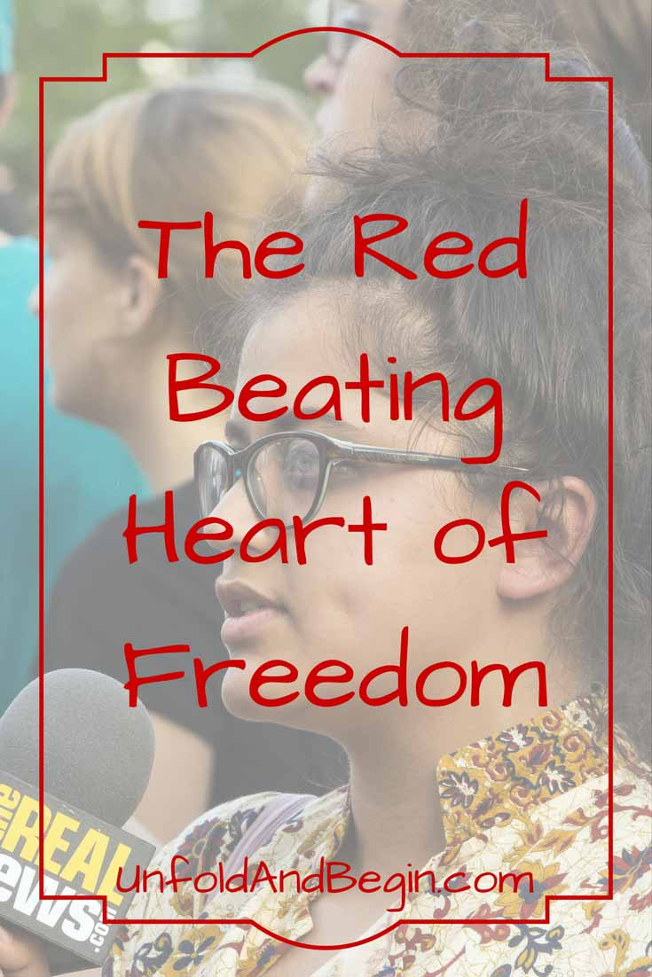 Don't let anyone tear down our true media, the true news outlets.  They are the red beating heart of freedom.  Read more on UnfoldAndBegin.com