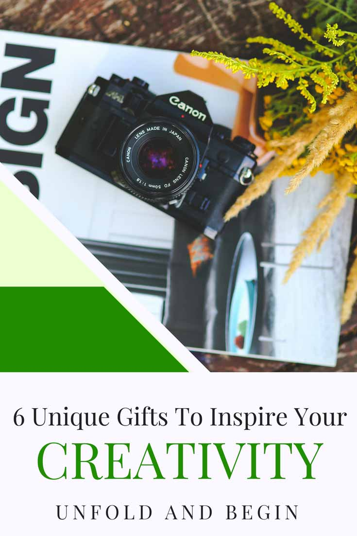 So this holiday season, why don't you try to surprise that artist in you with these 6 unique gifts to inspire your creativity. More on UnfoldAndBegin.com