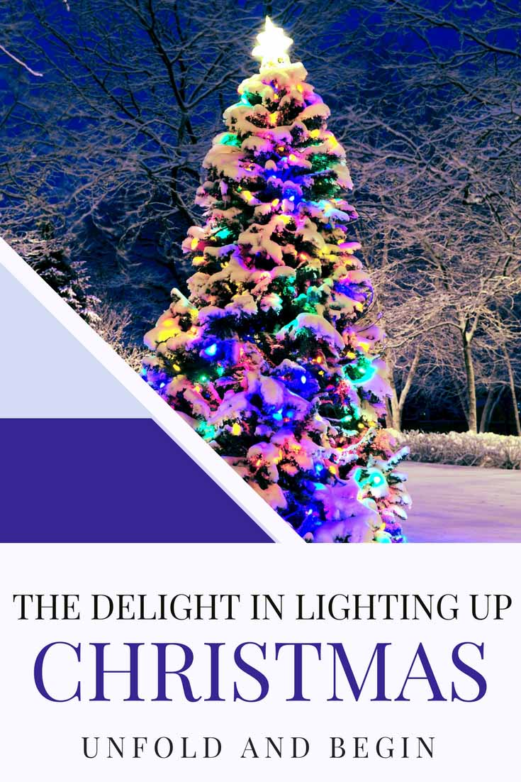 Remember when the day after Thanksgiving meant waiting for Santa to arrive and the delight in lighting up Christmas? A creativity prompt on UnfoldAndBegin.com