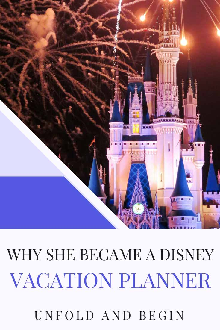 Sometimes we make career changes because we want to and sometimes, the health of a child makes us rethink our priorities. This is why she became a Disney Vacation Planner on UnfoldAndBegin.com