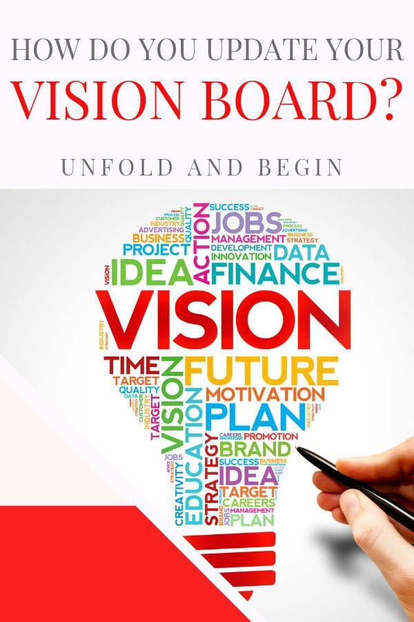 updating your vision board