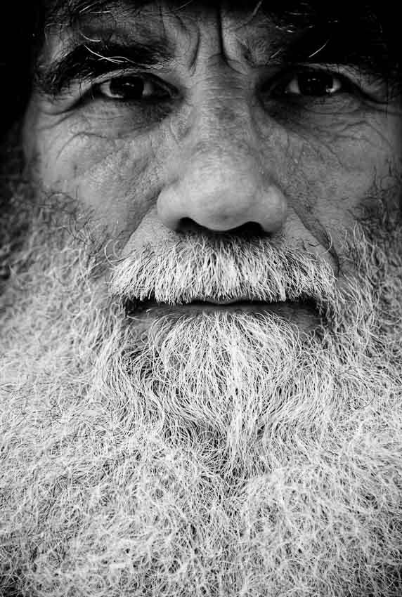 retrato fotografico barbudo - malinowski