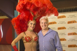 Zero Parallel's showgirl and speaker Murray Newlands
