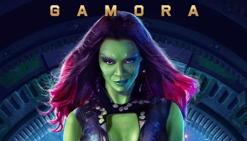 "Gamora. Also known as ""The deadliest woman in the galaxy."""