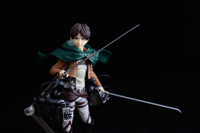 Eren still trying to be cool.