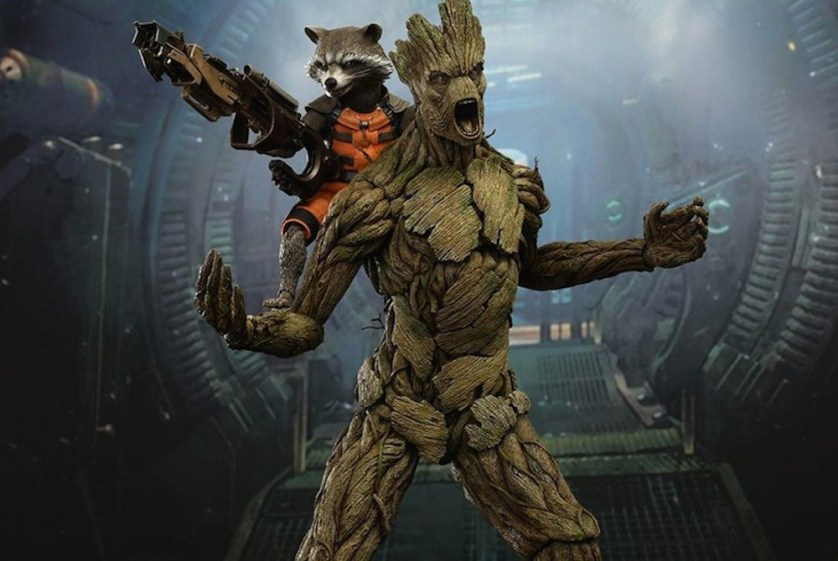Rocket and Groot!