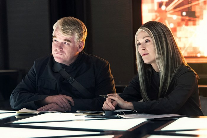 The amazingly talented Philip Seymour Hoffman with the lovely Julianne Moore