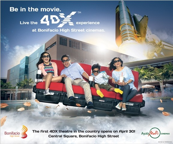 4DX Poster