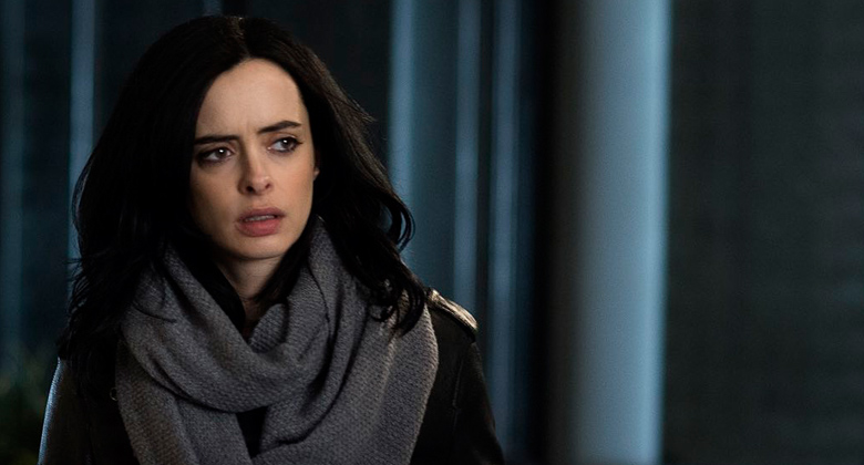 Krysten Ritter as Superhero turned P.I. Jessica Jones