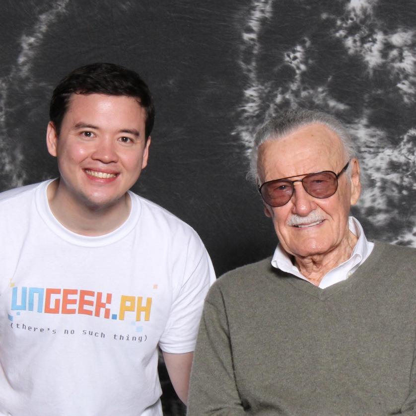 Meeting The Man, Stan Lee, himself