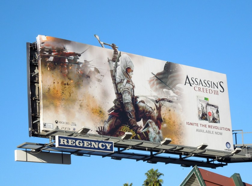 This could be a thing here. To some, this is just a billboard. To me, this is the start of a video gamer's dream-come-true