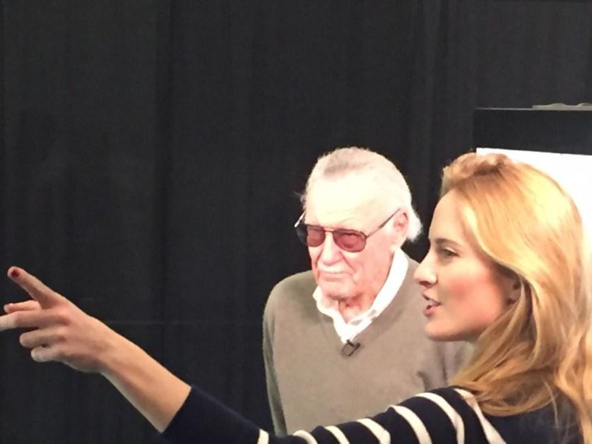 Stan Lee himself, photo credit to Joe Behnke from San Jose, CA