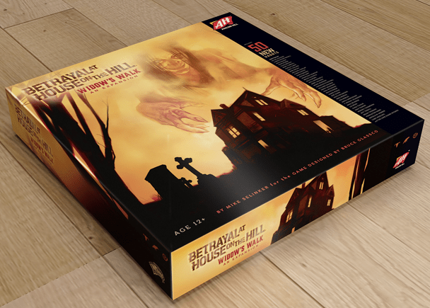 Image taken from Betrayal at House on the Hill's FB page