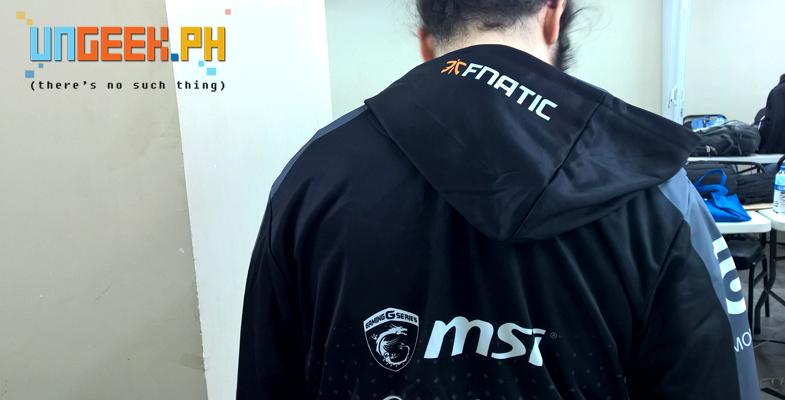 Like this Fnatic hoodie! :D