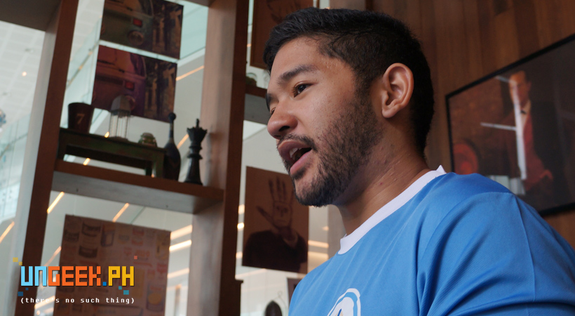 Raphael Gancayco elaborates about the group more