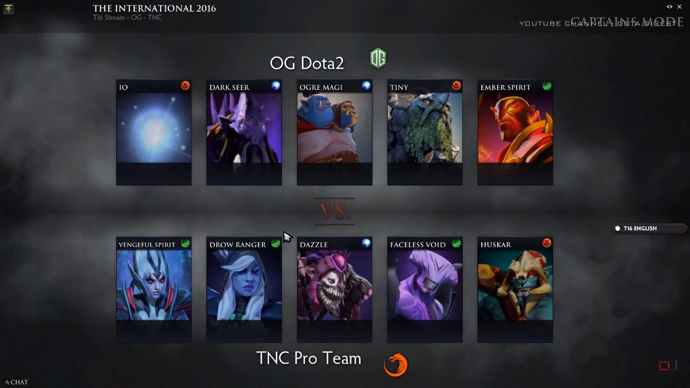 TI6 Update TNC The New Champs Ungeek