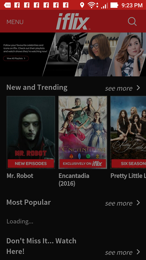 iflix feature discovery