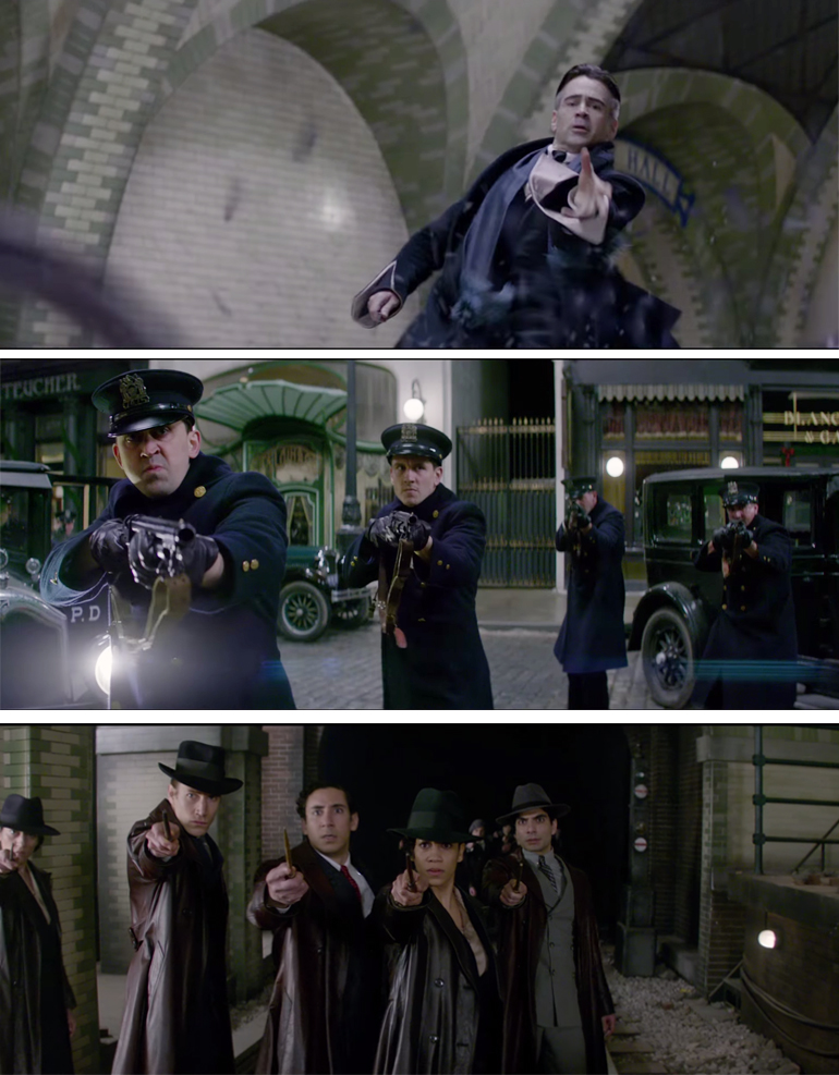 Scenes from Fantastic Beasts and Where to Find Them