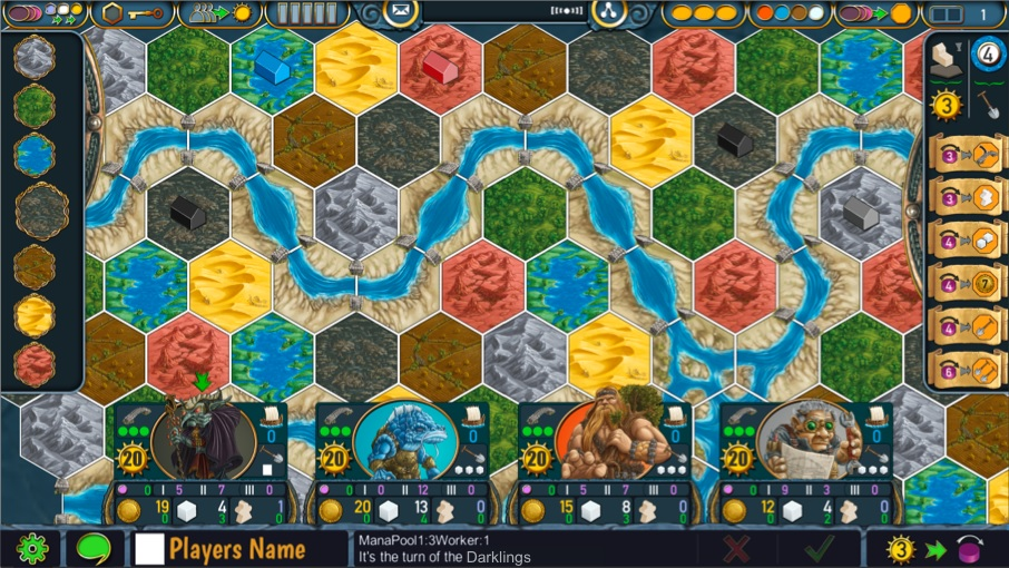 First Images of Terra Mystica Released By DIGIDICED