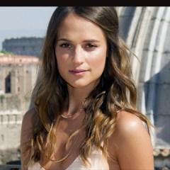 First Look! Alicia Vikander as Lara Croft in the Upcoming Reboot of 'Tomb Raider' Movie