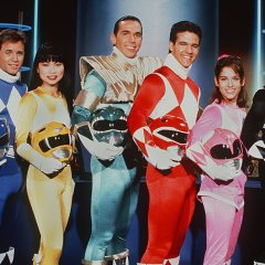 "Reunited! ""Mighty Power Morphin' Power Rangers"" Original Cast Graces Movie Premiere Night!"