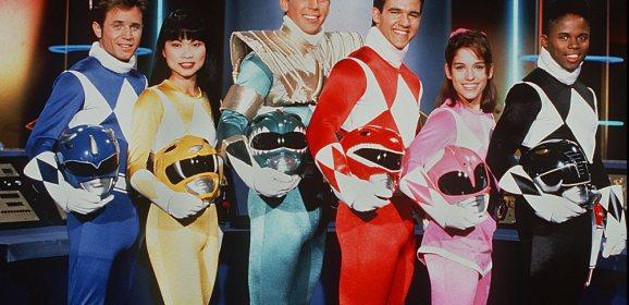 "Reunited! ""Mighty Power Morphin' Power Rangers"" Original Cast Graces Movie Premiere Night!"
