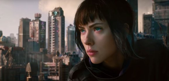 'Ghost in the Shell' is Showing in Cinemas Starting Today!