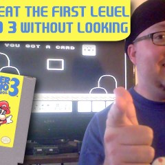 Gamer Proves That Anyone Can Beat The First Level of Mario 3 Without Even Looking